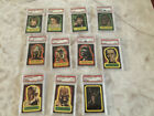 1977 Topps Star Wars Series 1 Full Sticker set of 11. All PSA Graded