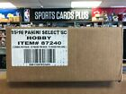 2015-16 Panini SELECT Soccer 12 Box Factory Sealed Case FREE Priority Shipping