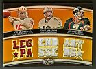 2010 TOPPS TRIPLE THREADS MONTANA - MARINO - ELWAY GAME-USED JERSEY CARD #2 9