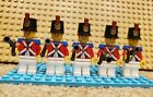 LEGO Pirates II Lot of 5 Imperial Soldiers - Printed Shako - Gray Flintlock Gun