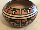 Hand Crafted Native American Decorative Pot by collected Pueblo Artisan