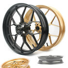 Front Wheel Rim Aluminum Fit Honda CBR600RR F5 2013-2018 Black/Gold Motorcycle