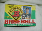 VINTAGE 1989 BOWMAN BASEBALL CARDS BOX OF 36 UNOPENED PACKS 31 YEARS OLD