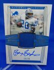 2019 National Treasures Material Signatures Barry Sanders Lions #18 25 Auto