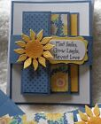 Stampin Up Card Kit CELEBRATE SUNFLOWERS Laugh Love Friend Happy Birthday CTMH