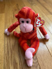 TY  TWIRLY  Twizzlers Monkey Beanie Babie  Retired