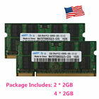 For Samsung 4GB 8GB 2RX8 PC2 5300S DDR2 667MHz 200pin SODIMM Laptop RAM Memory