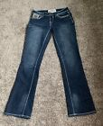Hydraulic Womens Blue Gramercy Boot Dark Wash Jeans Size 6 Pre Owned Great Cond