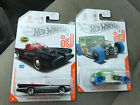 HOT WHEELS ID CAR BONE SHAKER  TV SERIES BATMOBILE CHASE With Protector Packs