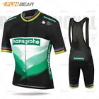 Hot Cycling Jersey Set Pro Team Clothing Men Short Sleeve Bicycle Wear