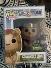 Funko Pop! Wizard of OZ Cowardly Lion Flocked #40 Gemini Exclusive W Protector
