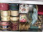 Traditional Wired Edge Various Design Ribbon Box Ideal for Gifts