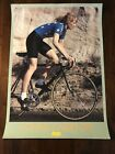 Vintage Original CANNONDALE Connie Carpenter Poster Womens Cycling 275 20
