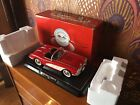 Solido 1958 Chevy Corvette Convertible 112 Scale Diecast Model Car Red Mint