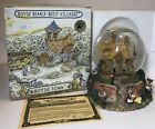 Boyd's Bears Bailey's Cozy Cottage Musical Lighted Snow Globe ~Bearly Village