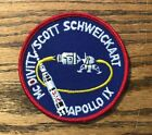 Genuine 1969 Lion Brothers NASA Apollo 9 Cloth Back Mission Patch 35 Nice