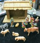 VINTAGE Germany NATIVITY SET CHRISTMAS MANGER SCENE Y 17