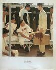 The Rookie By Norman Rockwell Vintage Poster
