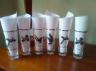 SET OF SIX Vintage Mid-Century MCM Goose Drinking Glasses - Great Condition!