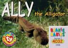 Ally The Alligator TY Beanie Babies Trading Card Series 1 Common