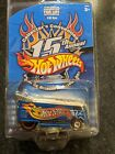 Hot Wheels 15th Convention VW DRAG BUS Only 6000 Made Rare Real Riders Redlines