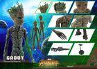 Empire Toys Groot Guardians Of The Galaxy 1 6 TH Scale Collectible Figure in Box