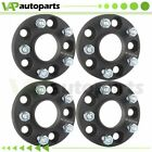20mm Thick 4Pcs Wheel Spacers 5x1143 5x45 12x15 For Mazda 3 2004 2014