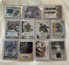 Lot of (11) Miscellaneous Football Autographs and Memorabilia Cards SSP Included