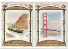 2013 Allen & Ginter Cabinet Box loader Wonders of the World 12 Different