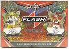 BOX 2020 LEAF FLASH FOOTBALL HOBBY FASC FACTORY SEALED 5 AUTOGRAPHS