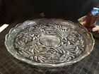 L E Smith Huge Punch Bowl Platter Daisy Pattern