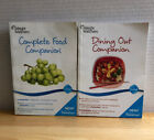 My Weight Watchers WW Point Plus COMPLETE FOOD  DINING OUT Companion Book Set 2