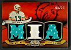 2009 TOPPS TRIPLE THREADS GAME-USED JERSEY RED #TTR85 - DAN MARINO #03 25