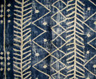 Ralph Lauren Galapagos Lapis Ethnic Native Western Fabric Remnant Sample B