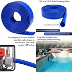 125 Dia x 100 ft Backwash Hose for Swimming Pools Heavy Duty Discharge Hose