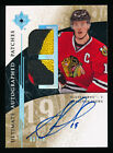 JONATHAN TOEWS 2009-10 Ultimate # 10 Autograph Patches Blackhawks Auto Signature