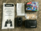 TASCO 8X21 165RB Binoculars Compact Rubber Armored With Case Original Box