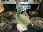 Vintage Art Glass Archimede Seguso Bullicante Murano Fish Made In Italy