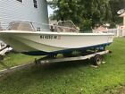1975 Boston Whaler 167 Newport Boat with 85HP Evinrude