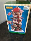 2017 Lemax Village Collection Christmas Countdown Clock Tower 73333 New Open Box