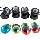 Submersible 4 LED Pond Spot Lights for underwater Pool fountain
