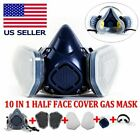 Fullhalf Face Gas Mask Respirator Painting Spraying Safety Protection Facepiece