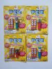 Lot of 4 PEZ Candy Keychain - Uncle Sam, Elephant, Clown, Gorilla - 1998, 1999