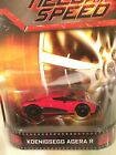 Hot Wheels 2013 Need For Speed KOENIGSEGG AGERA R Red VHTF