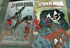 Spider Man Lot of 2 Birth of Venom  Back in Black Trade Size Excellent