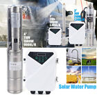 Solar Submersible Deep Well Bore Pump Water Pump for Farm Pool Irrigation 3 4