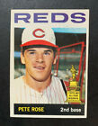 1964 Topps Baseball Card #125 PETE ROSE Vg + Paper crease Great Color & Corners