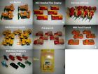 Matchbox Vehicles Pick  Choose what you want price per each Lot