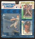 1993 MLB Starting Lineup Larry Walker Figure On Card Montreal Expos