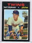 2001 TOPPS ARCHIVES FAN FAVORITES BERT BLYLEVEN